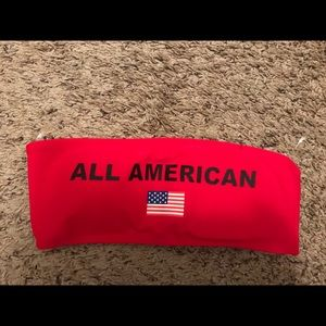 All American bandeau top